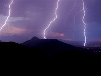 South Mountain Lightning