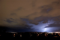 Lightning Over Sky Harbor